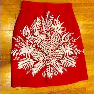 Designer Embroidered Summer Skirt